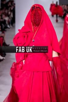 Yang du aw20 during london fashion week (2)