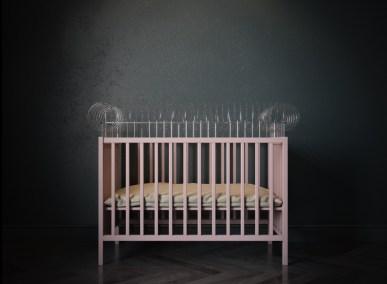 Baby cribs provolka render