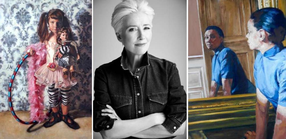 Dame emma thompson backs female art prize