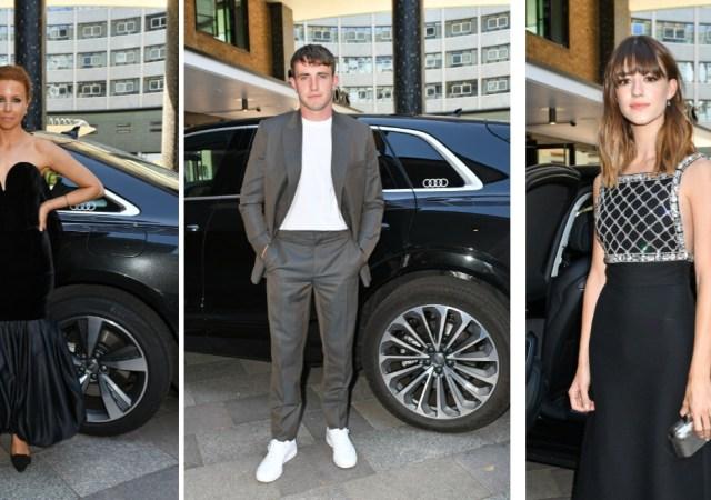 Audi drives the stars to the bafta tv awards