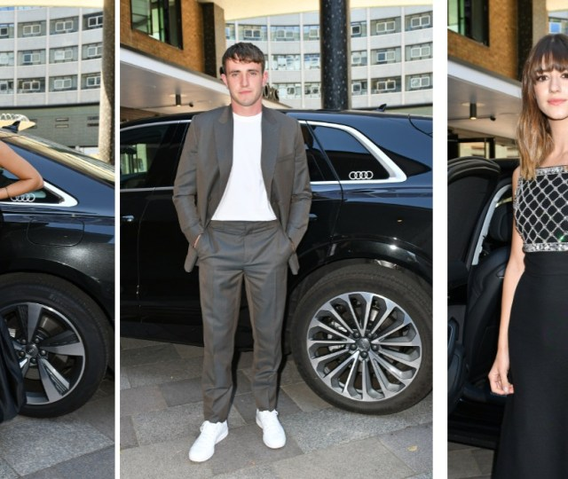 Audi drives the stars to the bafta tv awards