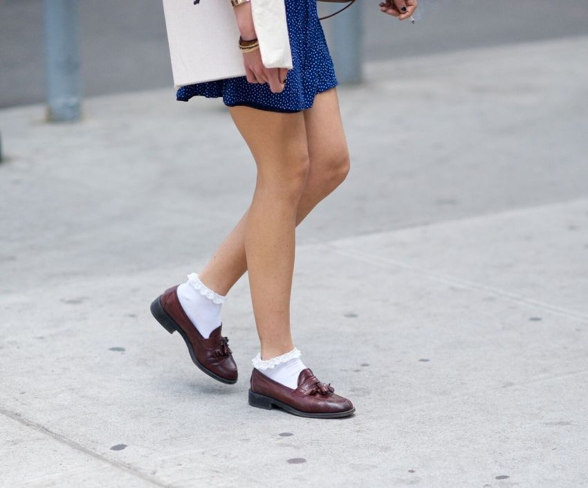 Trending with loafers