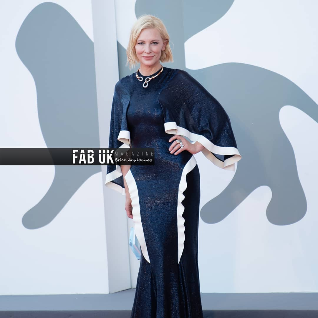 Cate blanchett at the opening ceremony of venice film festival (2)