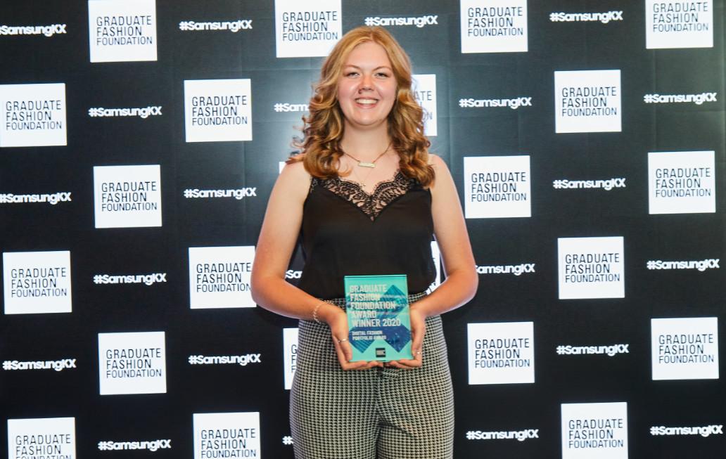 Megan andrews digital portfolio award