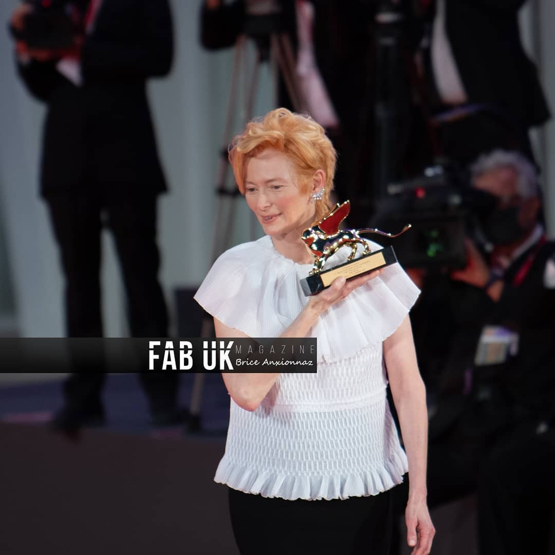 Tilda swinton at the opening ceremony of venice film festival (2)