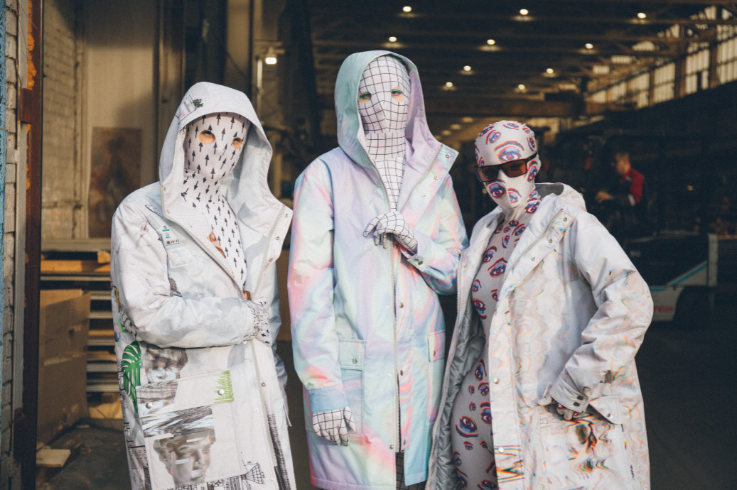 Designers from the russian capital presented their clothing collections at futurum moscow (7)