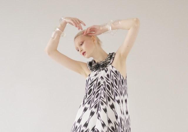 Elena souproun fashion show at mercedes benz fashion week russia
