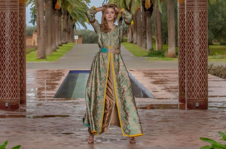 Oriental fashion show digital