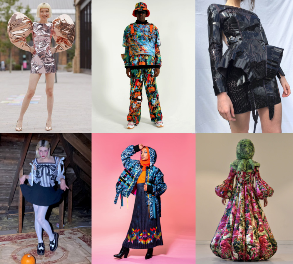 Graduate fashion foundation returns to showcase 6 emerging designers at london fashion week in collaboration with visualistt