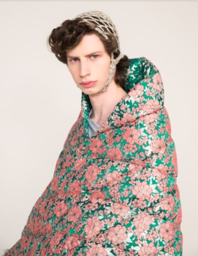 """Linus leonardsson aw2021 """"let there be light"""" during london fashion week 2021 (9)"""