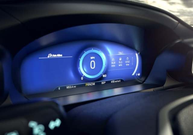 Ford mindful dashboard mode