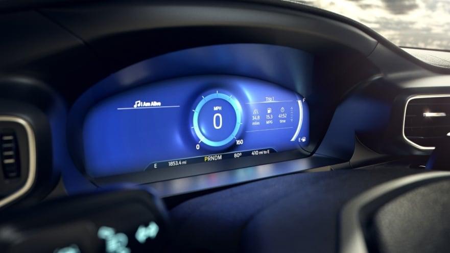 Ford mindful dashboard mode