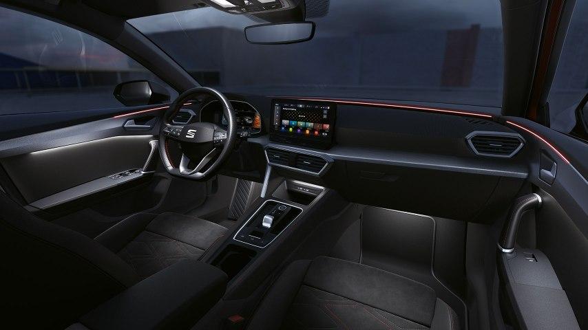 Seat leon interior design
