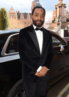 Chiwetel ejiofor arrives in an audi at the ee british academy film awards 2021 at royal albert hall, london, sunday 11 april 2021