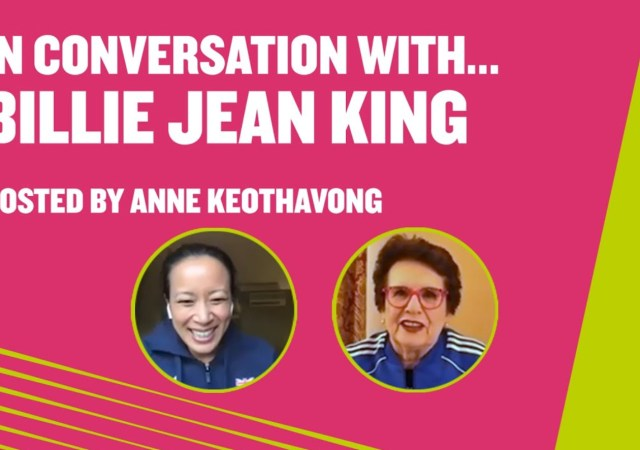 In conversation with the legend billie jean king