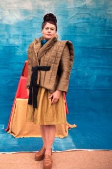 Anciela at mercedes benz fashion week russia (5)