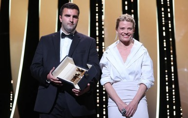 Mélanie thierry and frank graziano murina, caméra d'or image credit valery hache afp