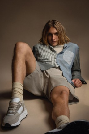 Teddy vonranson resort 2022 collection icons starring actor and musician hart denton (3)