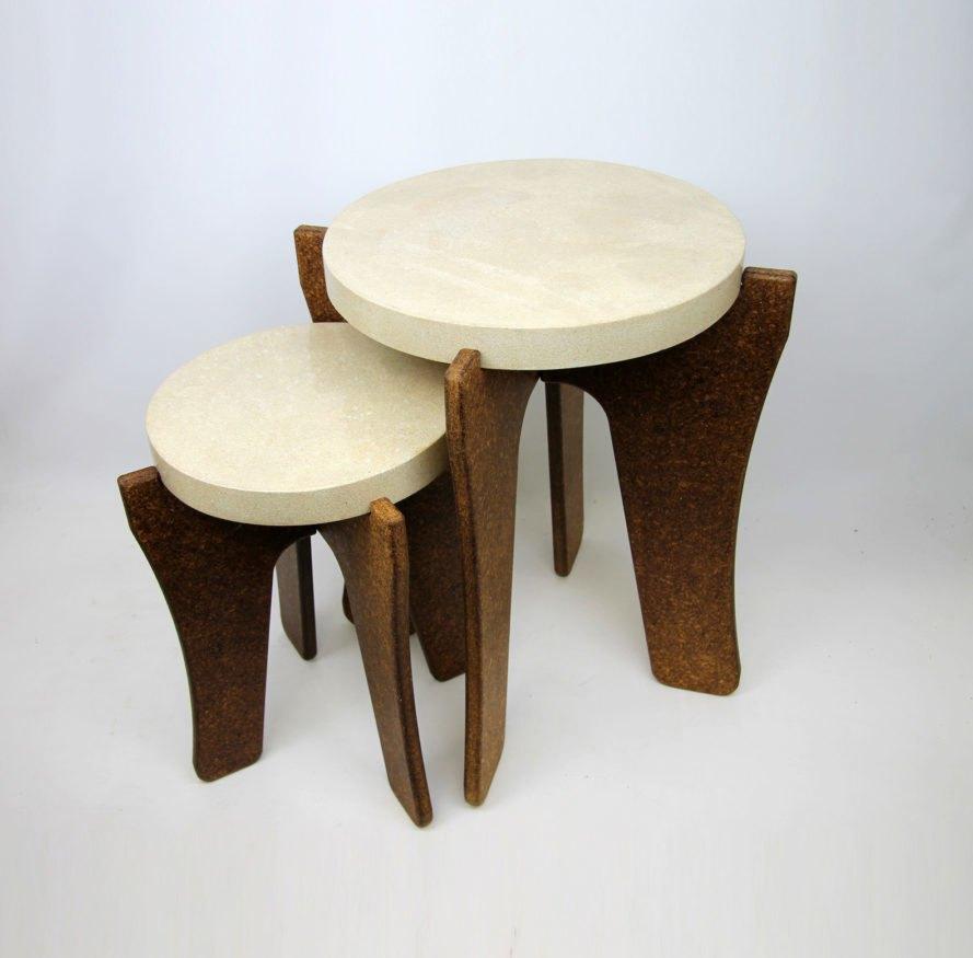 Ecovative biomason mushroom furniture