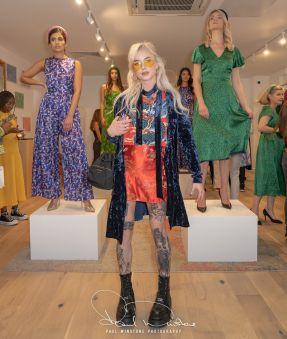 Isabel manns collection during london fashion week (7)