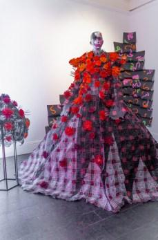 Karina bondareva springsummer 2021 during london fashion week (2)