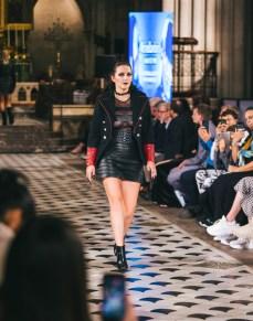 Celebrity fashion designer michael lombard steals the show at paris fashion week (1)