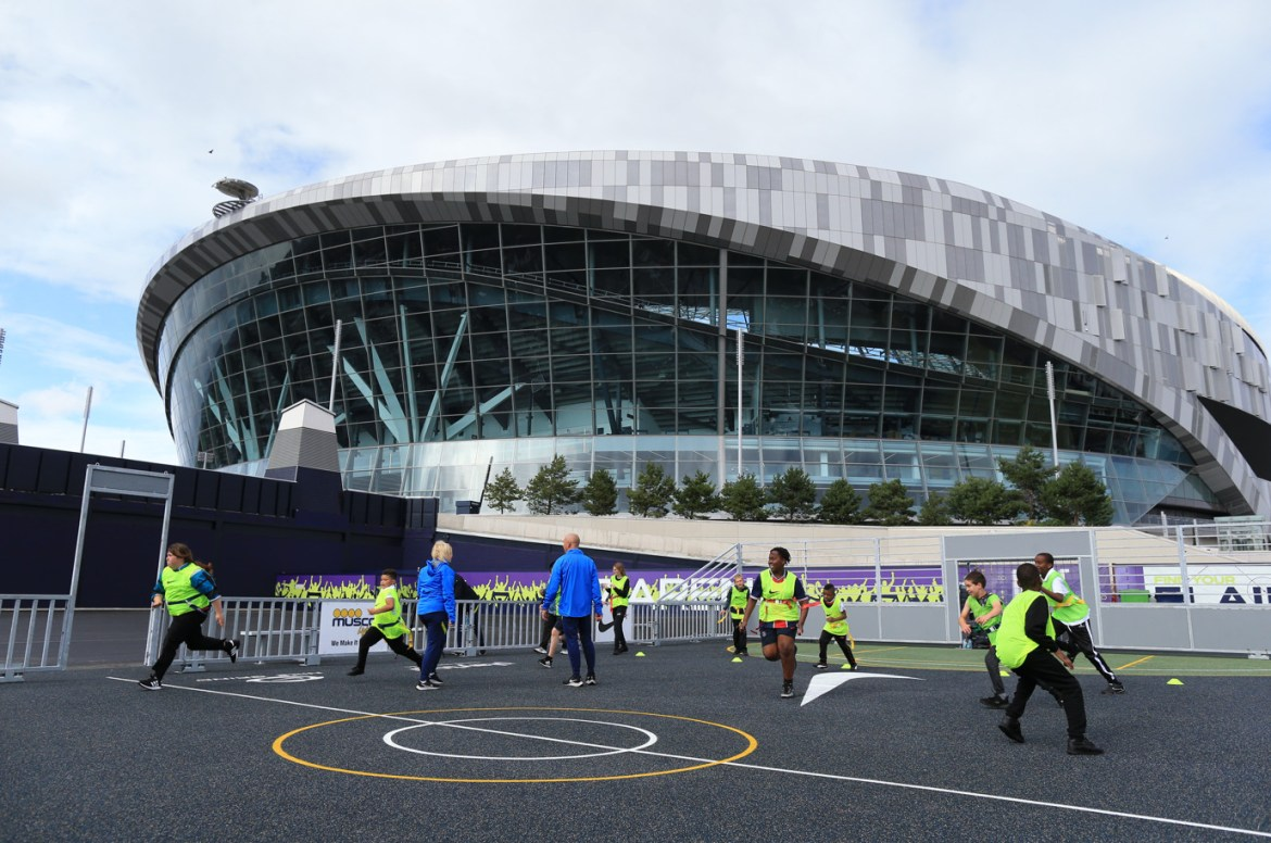 N17 arena – club unveils vibrant community space and talent id centre in the heart of tottenham (2)