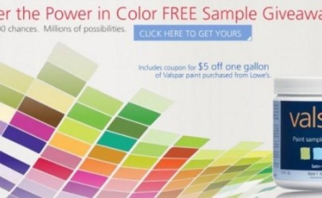 Free Paint Sample And 5 Off Coupon Livingonacoupon