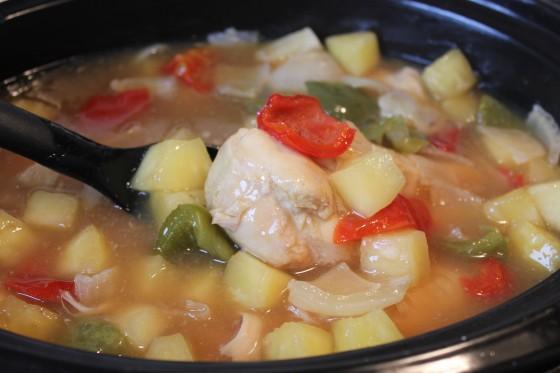 recipe crockpot chicken pineapple