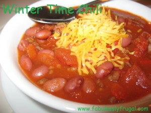 Winter Time Chili