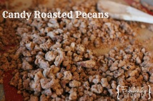 candied roasted pecans