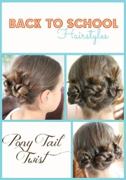school hairstyles - pony