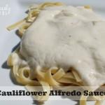 Cauliflower Alfredo Sauce main
