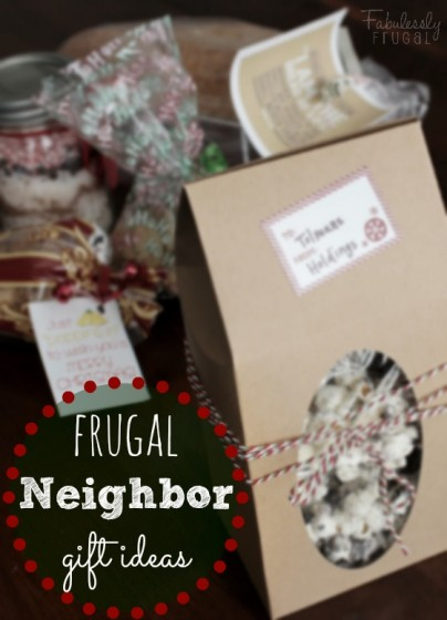 frugal homemade neighbor gift ideas