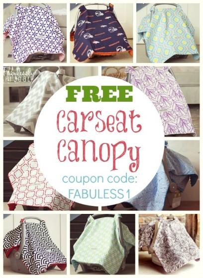 free car seat canopy
