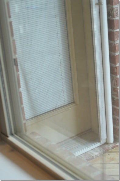 Clean window after using homemade glass cleaner