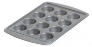 Wilton Avanti Everglide Metal-Safe Non-Stick Muffin Pan