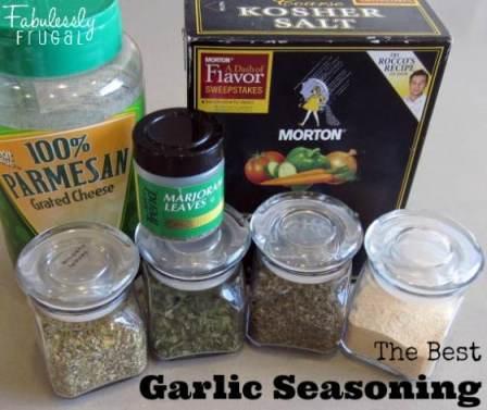 garlic seasoning ingredients