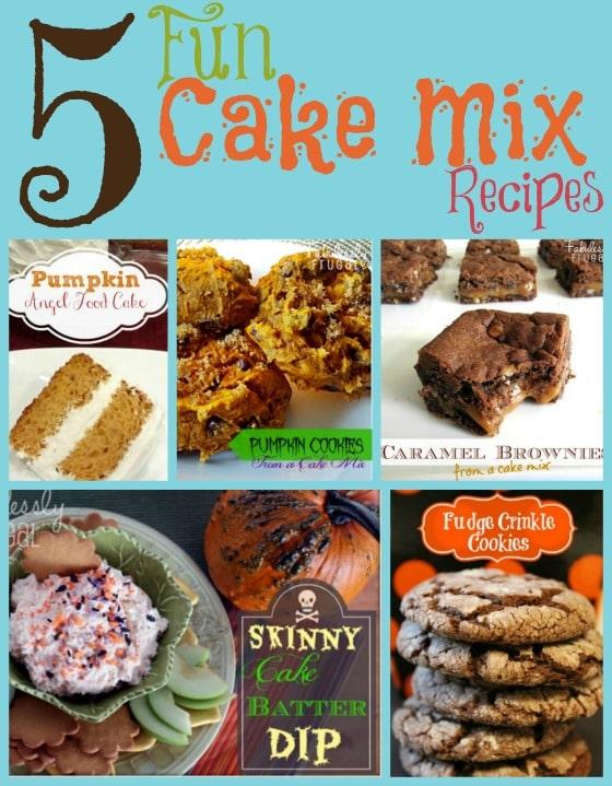 5 Fun Cake Mix Recipes