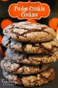 Fudge Crinkle Cookies Main
