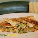 Spicy Zucchini Quesadillas