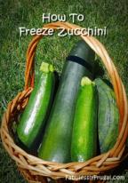 Zucchini Freezing 1