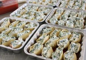 bulk freezer meal stuffed shells