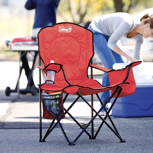 coleman oversized quad chair with cooler pouch deck chairs for sale amazon: $18.27 (reg. $35) - fabulessly frugal