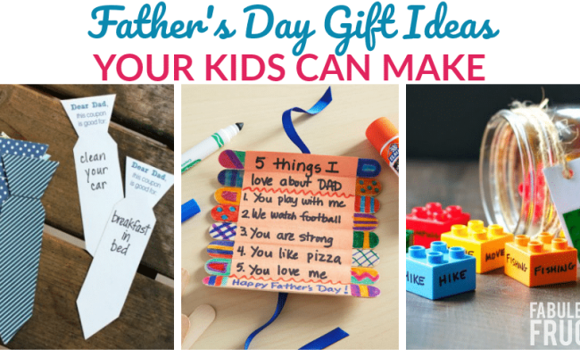 3 Things Your Kids Can Make For Father S Day Fabulessly