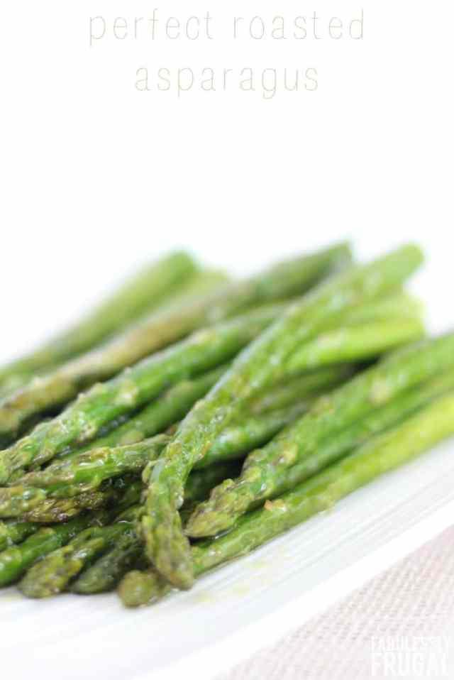 Perfect, easy roasted asparagus recipe