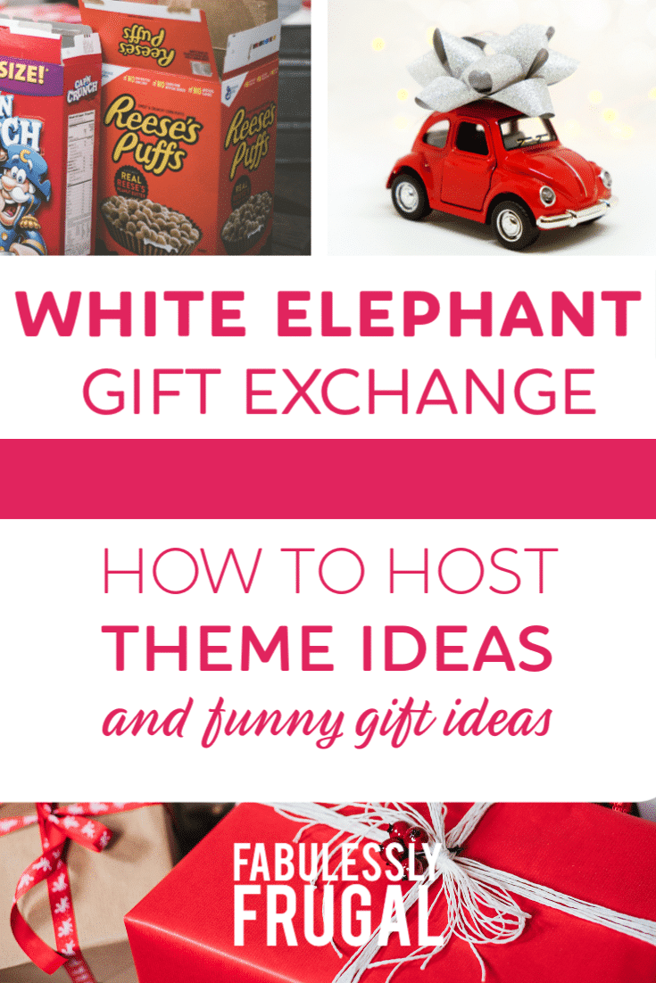 How to host a white elephant gift exchange and different variation ideas