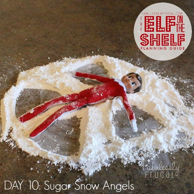 25 Days of Elf on the Shelf Ideas: Day 10