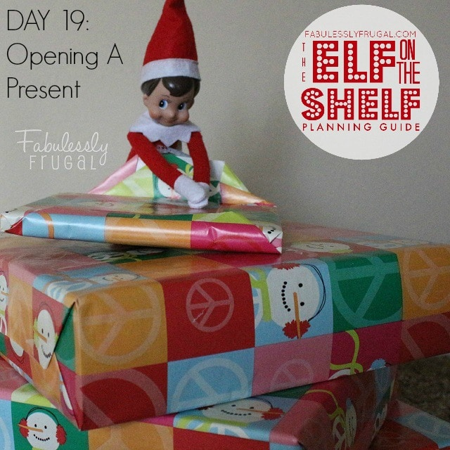 25 Days of Elf on the Shelf Ideas: Day 19