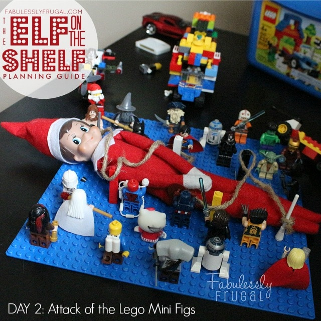 25 Days of Elf on the Shelf Ideas: Day 2